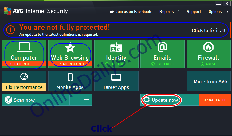 avg antivirus updates