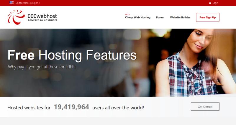 000webhost free web hosting companies banner