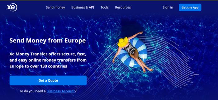 XE Money Transfer image
